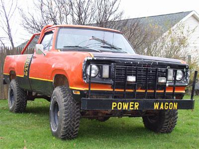 78 Dodge Power Wagon For Sale >> Dave's Southern Rides: Classic Cars | Car Parts | Car Hauling | Product Details
